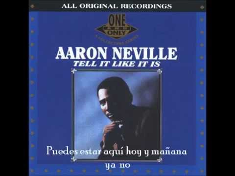 Aaron Neville - Tell it like it is (Subtitulada Español)