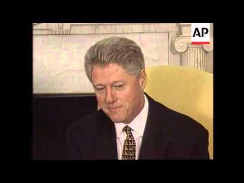 USA - Hosni Mubarak meets Clinton
