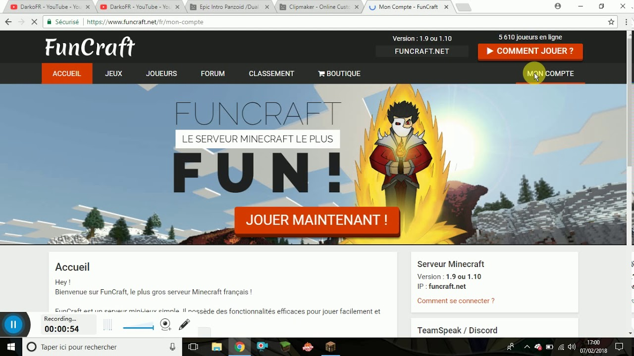 Comment Avoir Funcraft