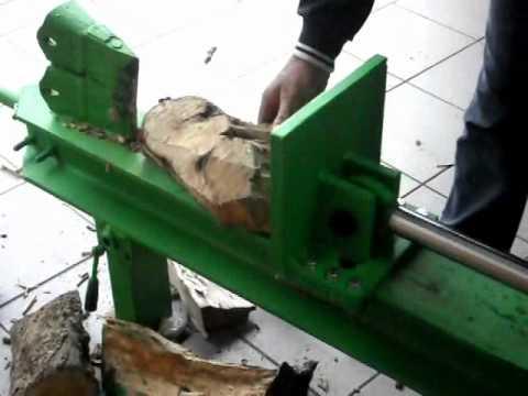 spaccalegna idraulico da 10 tonnellate youtube