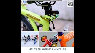H/&H//Seat post clamp for Brompton