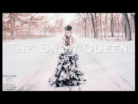 The Snow Queen- High Key Off Camera Flash High Speed Sync Shoot in Freezing Conditions w/ A7Riii