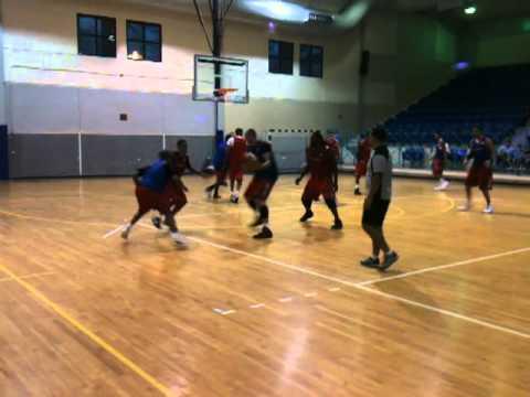 Puerto Rico Basketball Team Practice #3 (8/4/11), BoricuasBallers.com
