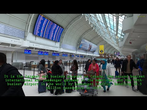 [4K] Walking Tour Of Toronto Lester B Pearson International Airport Departures Terminal 3 Canada