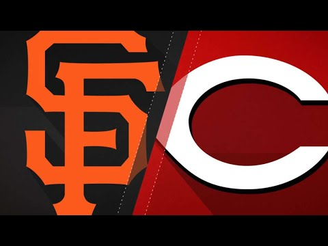 Harvey dominates as Reds roll past Giants: 8/18/18