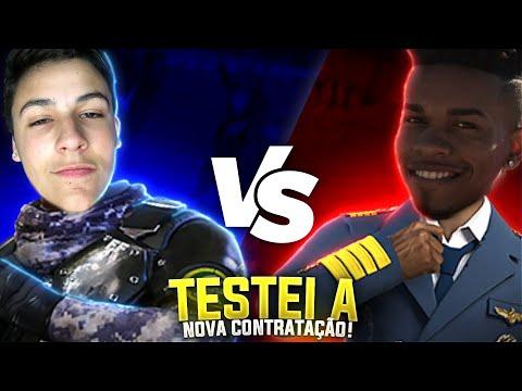 BLACK PEU VS EL SKY! TESTEI A NOVA CONTRATAÇÃO DA LOS GRANDES.