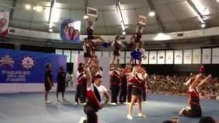 2013 Southeast Asia Cheerleading Open CHAMPION TEAM PILIPINAS COED