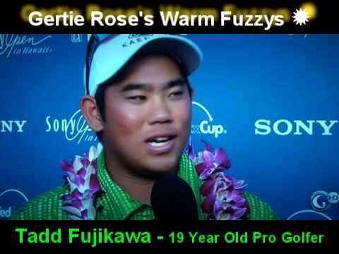 Tadd Fujikawa 19 Year Old Pro Golfer from Hawaii - Interview