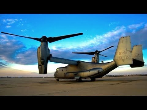 """The U.S. Military's V-22 Osprey """"Everything Is An Option"""""""