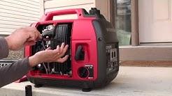 How to winterize or prepare a portable generator for long term storage Honda EU2000i