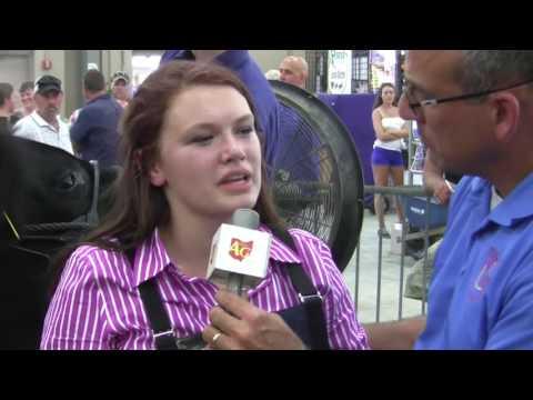 2016 Ohio State Fair Grand Champion Steer — Brooke Egbert, Auglaize Co.