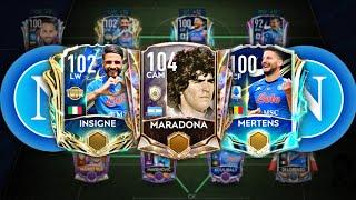 BEST SPECIAL NAPOLI SQUAD BUILDER MARADONA TRIBUTE FIFA MOBILE 21