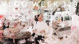 VLOG WEEK 129 - CHRISTMAS DECORATING & DOGS | JAMIE GENEVIEVE