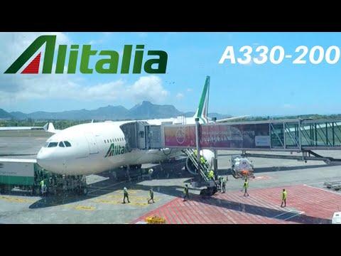 ALITALIA AIRBUS A330-200 (Economy) | ROME - MAURITIUS