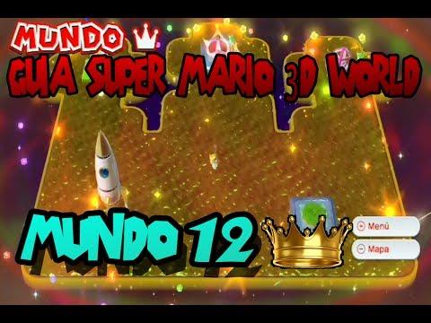 Super Mario 3D World: Mundo 12 100% | Mundo Corona