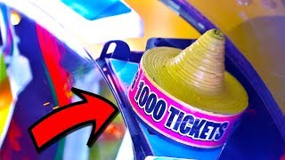 These Arcade Game Jackpot Wins Shocked Me! Biggest Ticket Win Ever!