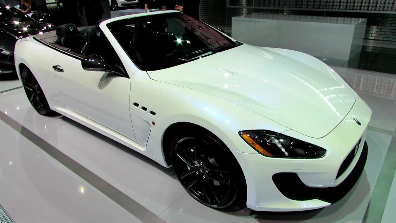 2014 Maserati GranTurismo MC Convertible - Exterior and Interior ...