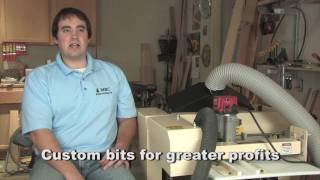 Woodmaster 3-Side Molding System Owner Mike Crowder