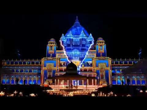 Umaid bhawan Jodhpur   Royal Wedding   Tvs motors wedding   Sahi Shadi   3d lazer show  