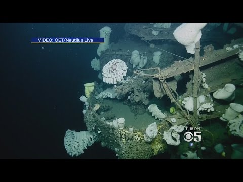 WWII Ship Hiding Mysteries On Pacific Ocean's Floor West Of Half Moon Bay