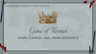 Game of Thrones - Ramin Djawadi arr. Frank Bernaerts