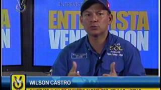 Entrevista Venevisión: Wilson Castro, candidato a la Alcaldía Municipio Caroní- Edo Bolívar