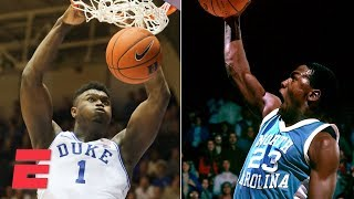Zion, Michael Jordan, Vince Carter headline best college dunkers | College Basketball Highlights