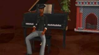 Ne-yo Why Does She Stay Sims 2 Video