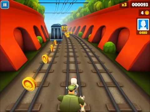 Subway Surfers -Radio- (Epizoda 1) Gameplay