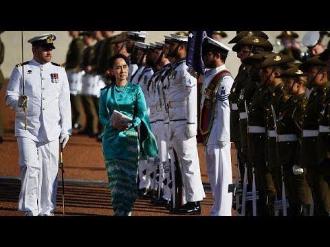 Aung San Suu Kyi accolta a Canberra, nonostante le critiche