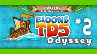 Bloons TD 5 Odyssey Mode Hard - Ep.2