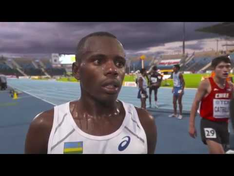 #African athlete from #Rwanda competing in #Poland