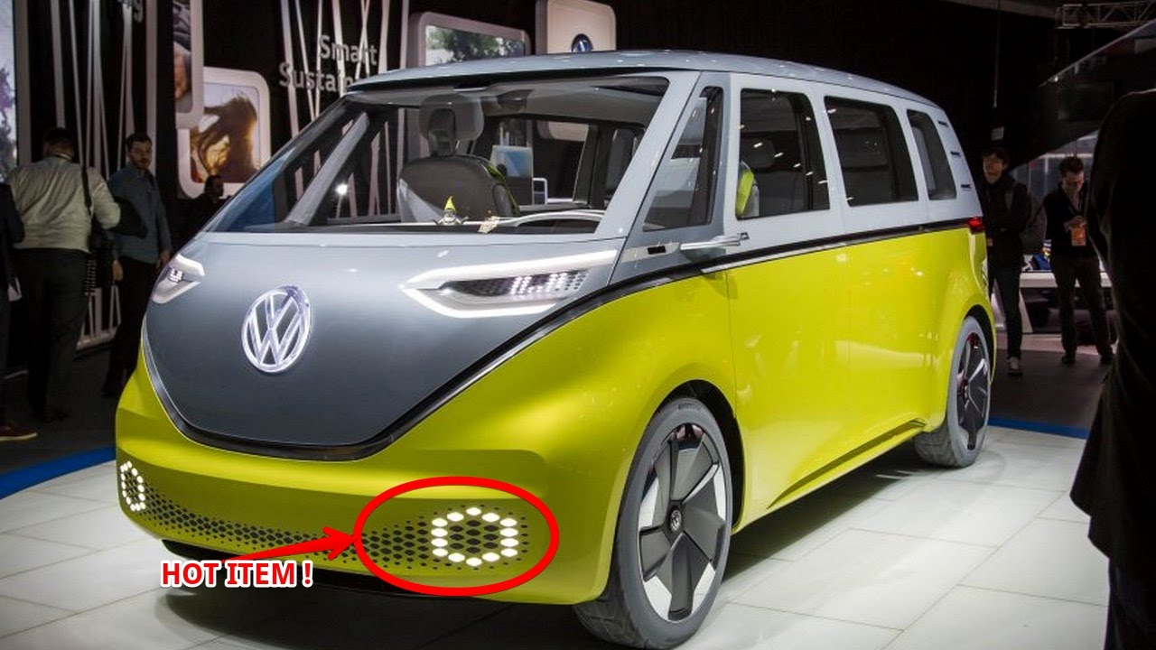 Hot News Low Price 2018 Volkswagen I D Buzz Concept