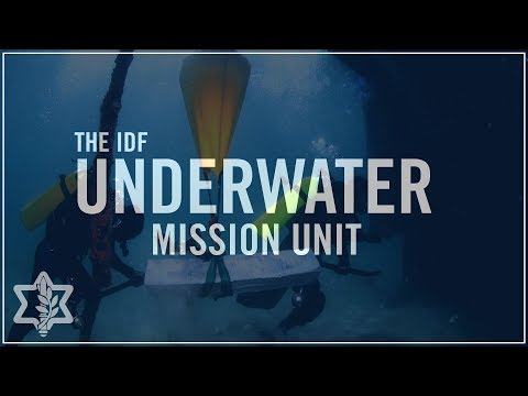 Get to Know the IDF's Underwater Mission Unit