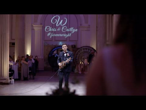 Groom Surprises Bride With Live Performance Of Mumford And Sons At Weddings