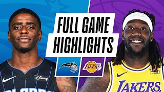 MAGIC at LAKERS | FULL GAME HIGHLIGHTS | March 28, 2021