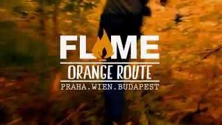 FLAME ORANGE ROUTE – Praha & Wien & Budapest