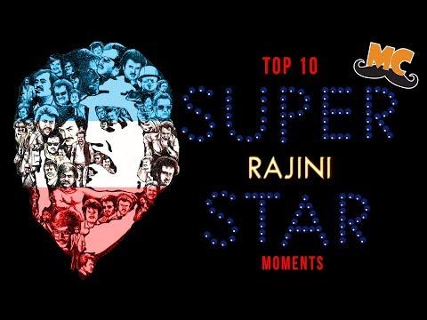 "TOP 10 SUPER STAR RAJINIKANTH ""MOMENTS"" | Ft. Varun | Countdown | Madras Central"