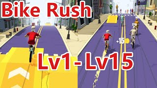 Bike Rush Walkthrough Part 1 Lv1-15