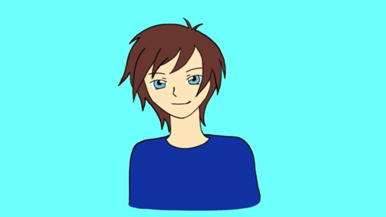 Apprendre dessiner un visage manga gar on youtube - Dessiner un manga ...