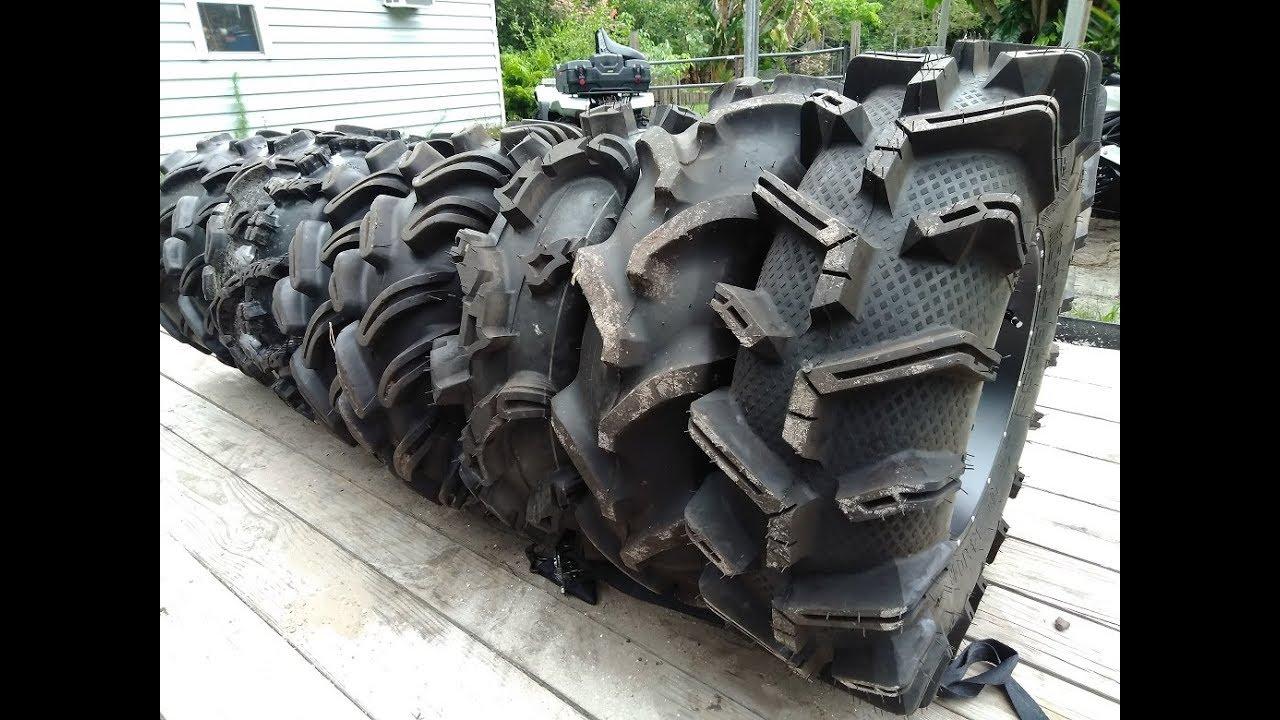 Tire Size Comparison >> Huge Mud Tire Comparison ATV SXS - YouTube