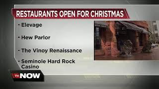 Restaurants open for christmas -