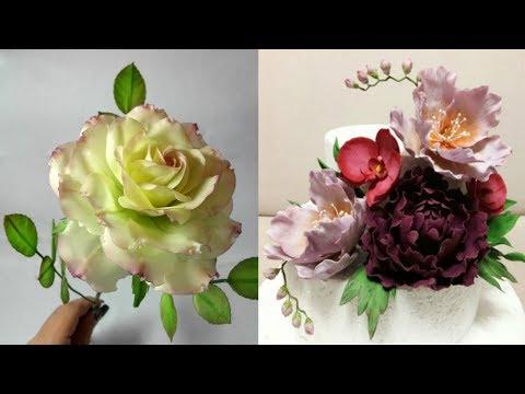 Как сделать идеальную мастику для лепки цветов!