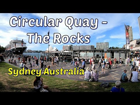 Sydney CBD - Circular Quay And The Rocks
