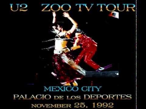 U2 - Mexico City, Mexico 25-November-1992 (Full Concert Enhanced Audio)