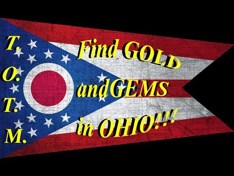 Where to FIND GOLD and RARE MINERALS in OHIO!