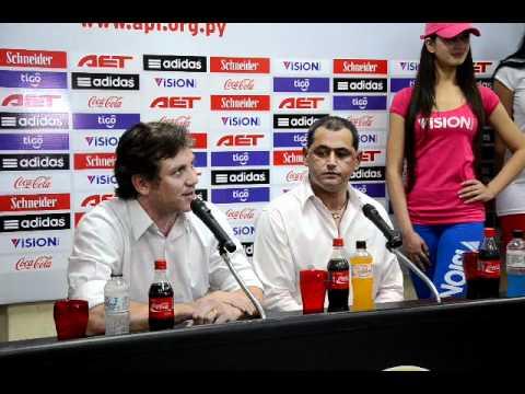 Presentación de Francisco Arce como nuevo DT de la selección paraguaya de fútbol (2da. parte)