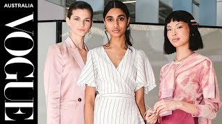 Inside Melbourne Airport's first runway show   Shopping and Style Guides   Vogue Australia