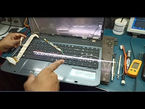 How to fix laptop screen problem (HINDI) || Online laptop repair training