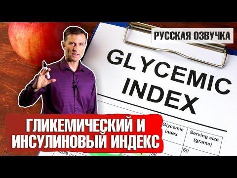 Гликемический и инсулиновый индекс: ЧТО ТАКОЕ? (русская озвучка) | гликемический | инсулиновый | продуктов | таблица | индекс | высок
